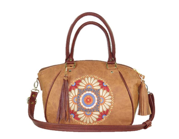 Southwest Leather Satchel
