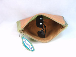 Spring Crocus Zipper Pouch interior