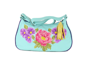 Summer Floral Classic Hobo