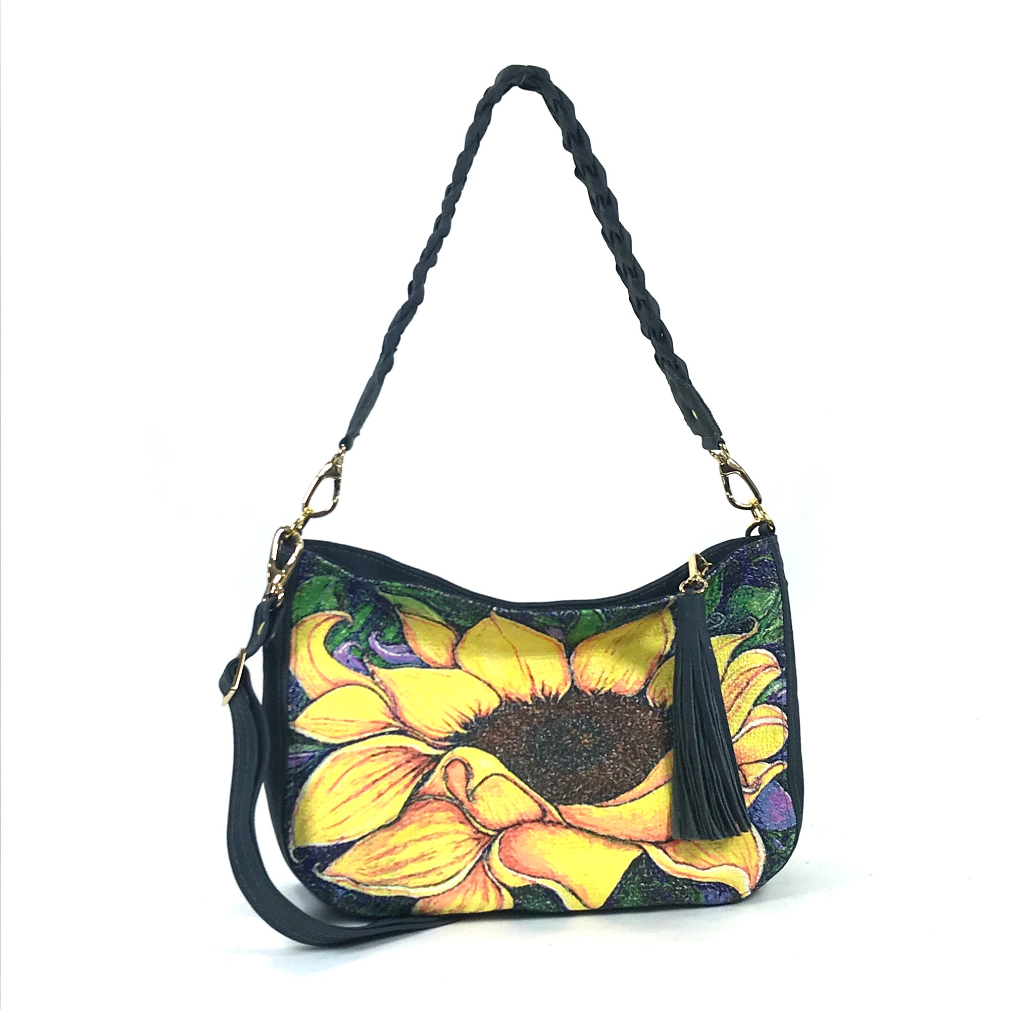 Sunflower Slouchy hobo purse