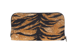 Tiger Chenille Wallet back view