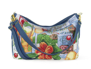 Tropical Vacation Slouchy Hobo