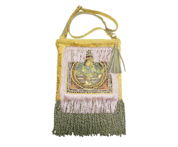 Vishnu Kalaga Embroidered Ren Faire Gypsy Bag