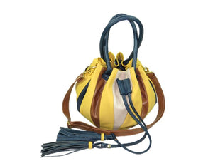 Yellow Pumpkin Bucket Bag 2