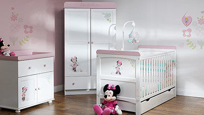 DISNEY MINNIE MOUSE SET - LOVE MINNIE