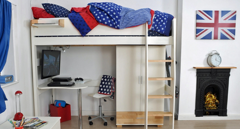 Children's High Sleeper Beds