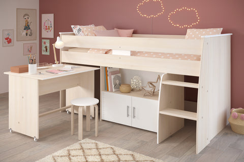 Parisot Charly Mid Sleeper Bed