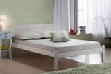 Birlea Rio Wooden Bed in Whitewashed