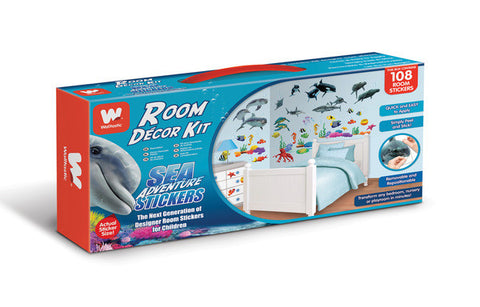 Walltastic Sea Adventure Room Decor Kit - Childrens Funky Furniture - 3