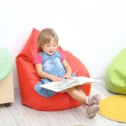 Red Bean Bag- Can be used indoors or outdoors