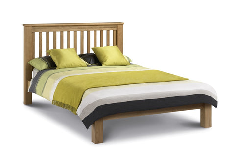 Julian Bowen Amsterdam Oak Double Bed LFE - Childrens Funky Furniture