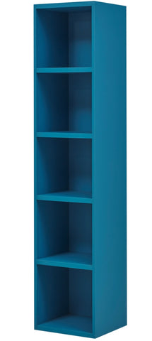 Gami Babel Blue Bookcase - Childrens Funky Furniture - 1