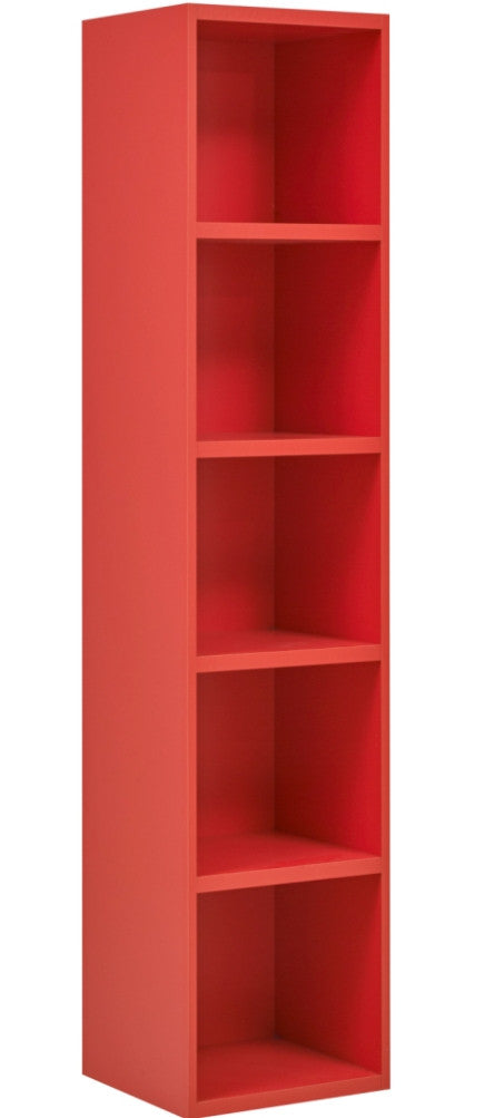 hoco red products bookcase fabrication orangebookcase