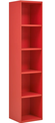 Gami Babel Red Bookcase - Childrens Funky Furniture - 1