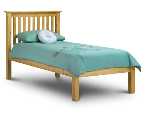 Julian Bowen Barcelona 3ft Single LFE Bed - Pine - Childrens Funky Furniture - 1
