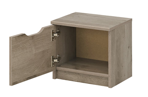Gami Brooklyn Oak Ash bedside table