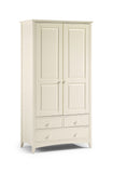 Julian Bowen Cameo 2 Door Combination Wardrobe - Childrens Funky Furniture - 2
