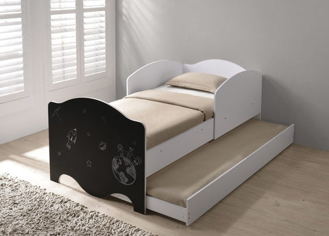 Casey single trundle day bed by Flintshire Furniture