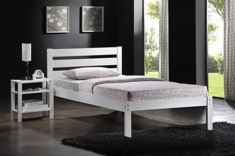 Flintshire Eco Bed in a Box in White- Single or Double