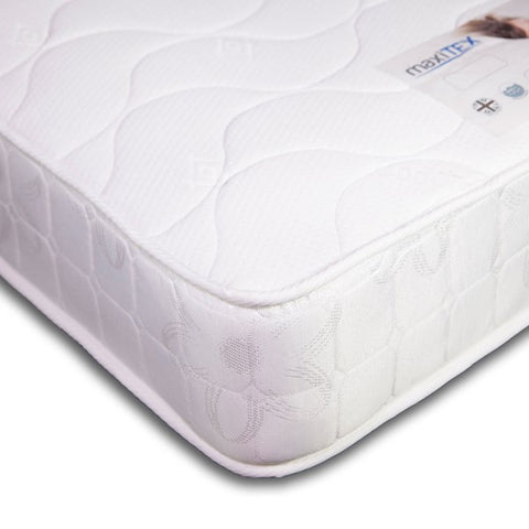 MAXITEX PREMIER SPRUNG MATTRESS-SINGLE CONTINENTAL 200cm
