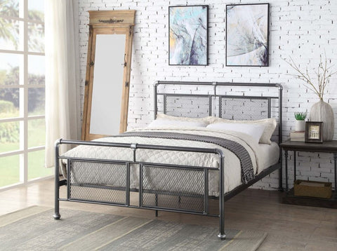 Flintshire Hope Metal Bed Frame Single, Double or King