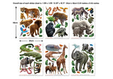 Walltastic Jungle Adventure Room Decor Kit
