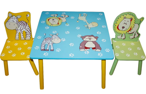 Animal Table and 2 Chairs - Childrens Funky Furniture - 1