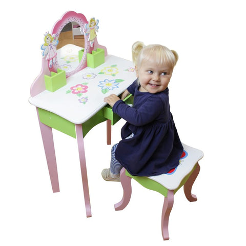 Butterfly Dressing Table And Stool