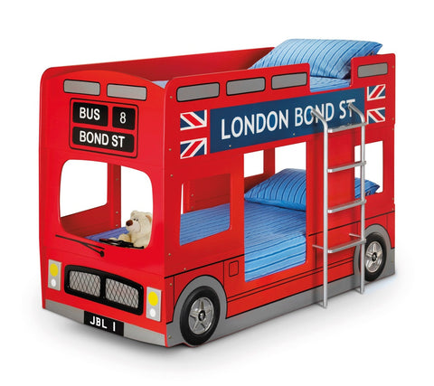 Julian Bowen London Bus Bunk Bed - Childrens Funky Furniture