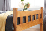 Birlea Miami Antique Pine Bed- Single, Small Double or Double