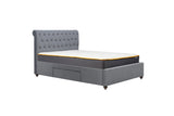Birlea Marlow Fabric Storage Bed Double, King or Super King Size