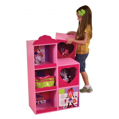 FASHION GIRL SHELF AND STACKING STORAGE UNITS