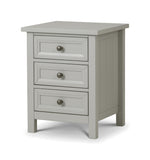 Julian Bowen Maine Dove Grey Bedside Table