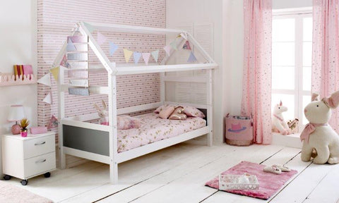 Flexa Nordic Single Playhouse Bed 1