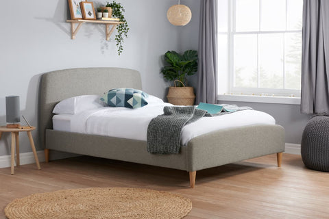 Birlea Quebec Fabric Bedframe- Small Double, Double or King Size