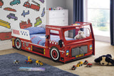 Samson Fire Engine Bed - Childrens Funky Furniture - 2