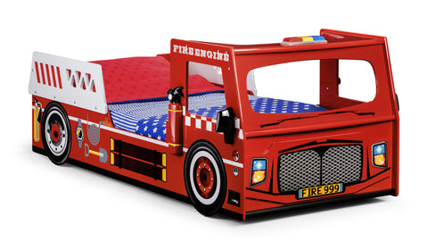 Samson Fire Engine Bed - Childrens Funky Furniture - 1