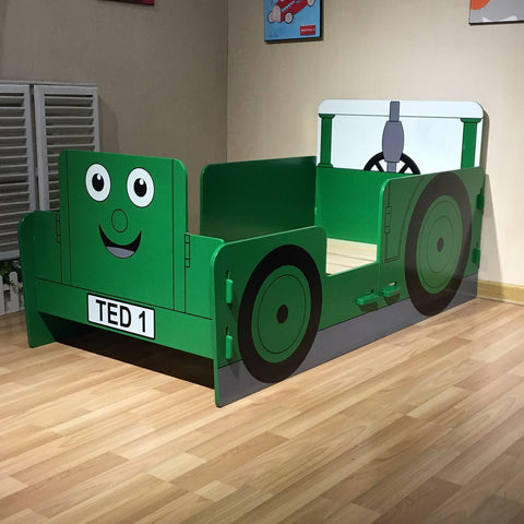 Tractor Ted Junior Bed - Childrens Funky Furniture - 1