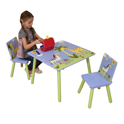 Safari Table & 2 Chairs