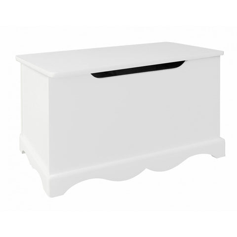 Small White Toy Box