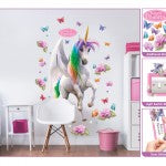 Walltastic Magical Unicorn Large Character Sticker