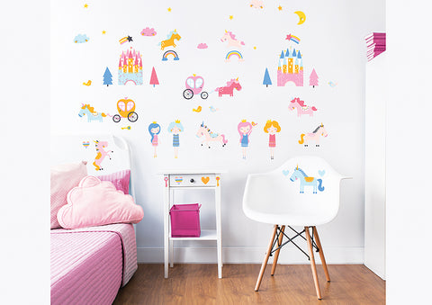 Walltastic Magical Unicorns Wall Stickers