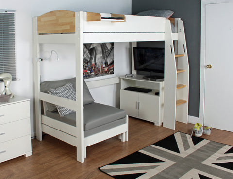 Kids Avenue Urban High Sleeper 3 Birch
