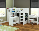 Wizard Junior High Sleeper Workstation - Childrens Funky Furniture - 3