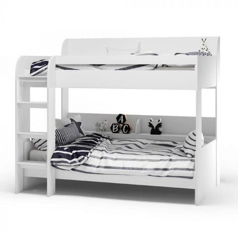 Kidsaw Aerial Bunk Bed - White