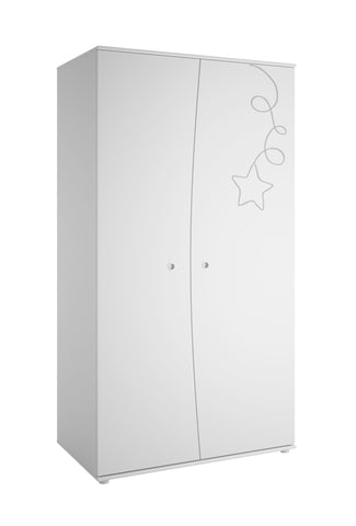 Galipette Adele 2 Door Wardrobe