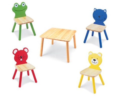 Little People Table & Chair Set - Childrens Funky Furniture