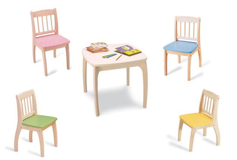 Junior Table & Chair Set - Childrens Funky Furniture