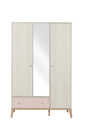 Gami Alika 3 Door Wardrobe