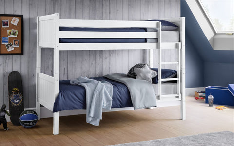 Julian Bowen Bella Bunk Bed in White